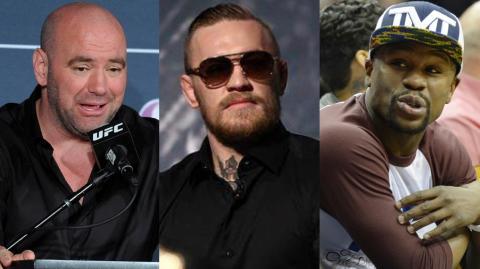 Straßenkampf zwischen McGregor und Mayweather? Dana White kennt den Sieger...