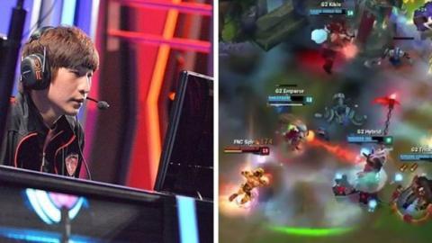 League of Legends: Emperor, ADC von G2, mit einem genialen Outplay gegen Fnatic