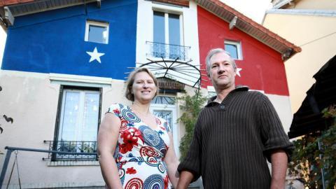 Nach Frankreichs WM-Triumph: Paar streicht Haus in Blau-Weiß-Rot. Dann meldet sich der Bürgermeister!