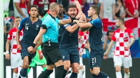 WM-Finale 2018: Schiedsrichter beichtet, wie es wirklich zum Elfmeter für Frankreich kam