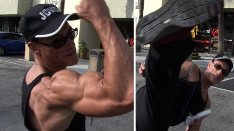 Jean-Claude Van Damme enthüllt das Geheimnis seines muskulösen Körpers