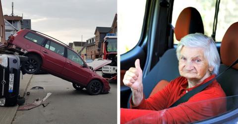 93-Jährige will ausparken, doch was sie dann macht, ist unfassbar