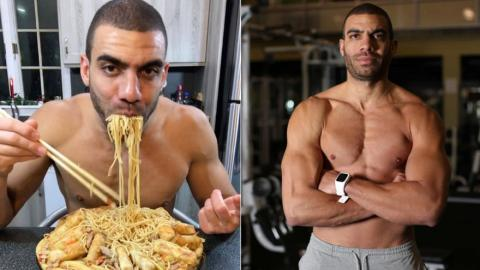 Blake Horton betreibt intermittierendes Fasten und isst bis zu 4.000 Kalorien am Tag