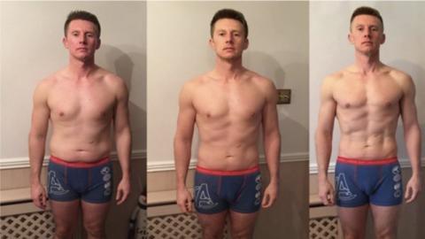 Mit drei cleveren Änderungen an seiner Ernährungsweise schafft er es, seinen Körper völlig zu verwandeln!