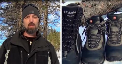 Dieser Mann hat eine geniale Idee, wie eure Füße im Winter immer warm bleiben!