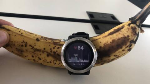 Wie Fitnesstracker den Puls von Bananen und anderen Dingen messen