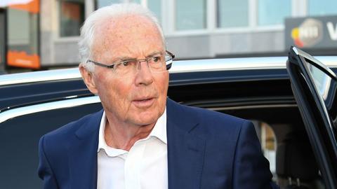 Lebensgefahr: Franz Beckenbauer nicht vernehmungsfähig