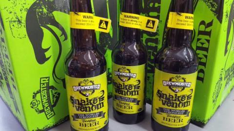 """""""Snake Venom"""": Das vielleicht giftigste Bier der Welt"""