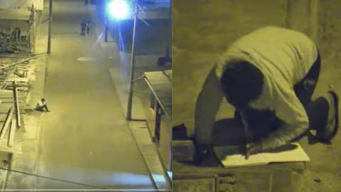 Peru: Ein 12-jähriges Kind hat keine Elektrizität zu Hause. Was es dann auf der Straße macht, rührt zutiefst (Video)