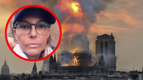 Natascha Ochsenknecht kritisiert Spender von Notre-Dame wegen einer beunruhigenden Tatsache
