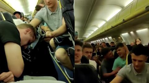 """""""Es war die Hölle auf Erden"""": 70 Betrunkene lassen Ryanair-Flug zum Alptraum werden"""