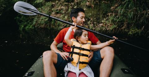 So viel Sport sollten werdende Väter treiben, damit das Kind weniger gesundheitliche Probleme hat