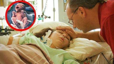 Klinisch tote Mutter gebärt Baby: Dann erleben die Ärzte ein Wunder!