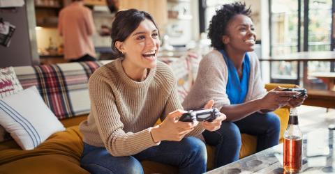 Neues Videospiel hemmt eine Lust, damit Jugendliche gesünder leben
