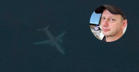Schock-Fund: Mann entdeckt versunkenes Flugzeug im Meer