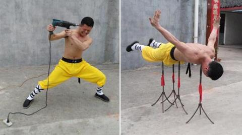 Zhao Rui ist ein Shaolin Mönch und seine Haut ist unzerstörbar: nichts kann sie durchstechen
