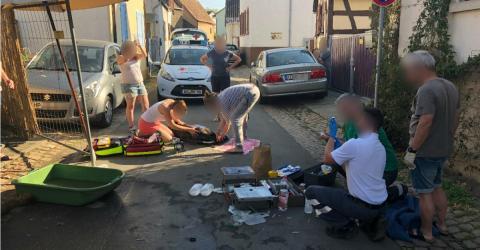 Drama in Rheinhessen am ersten sommerlichen Wochenende