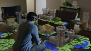 HoloLens, der erstaunliche Helm von Microsoft, lässt Hologramme rund um Sie herum entstehen