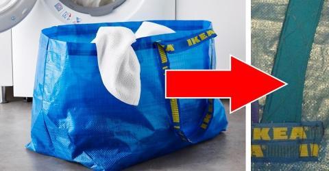 tasche rucksack in einem