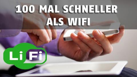 Li-Fi: Die neue Technik, die 100 mal schneller ist als Wi-Fi