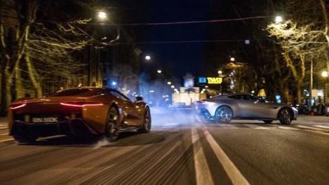 007 Spectre: Sehen Sie die außergewöhnlichen Autos des Films in Action
