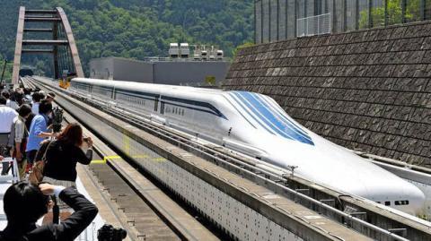 JR Maglev: Diese japanische Magnetschwebebahn ist der schnellste Zug der Welt!