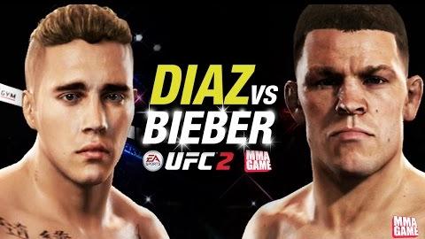 Nate Diaz vs. Justin Bieber? Ein Traum wird wahr! (Für einen von beiden wird es ein Alptraum...)