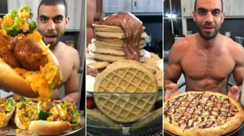 Blake Horton gönnt sich jeden Abend 4.000 Kalorien - aber er hat trotzdem einen Traumkörper!