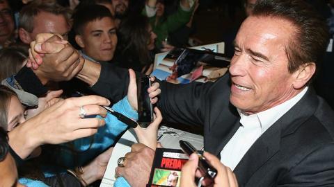 Während Sportveranstaltung: Arnold Schwarzenegger wird Opfer einer Attacke