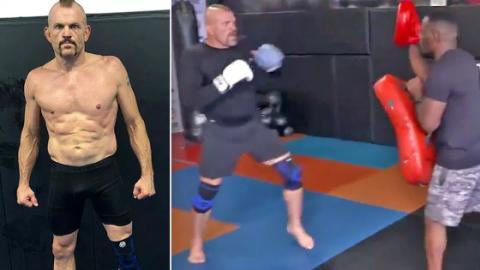 MMA: Die Bilder von Chuck Liddells Training lassen die Fans fassungslos zurück