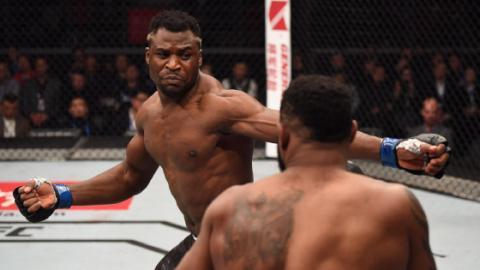 UFC-Hammer: Francis Ngannou macht Curtis Blaydes platt - in Sekunden!