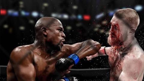 Floyd Mayweather blamiert sich mit McGregor-Spott