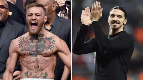 Kampf der Titanen: Conor McGregor fordert Zlatan heraus!