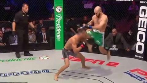Beeindruckender Knockout-Sieg: Dieses K.o. wird in die Geschichte eingehen