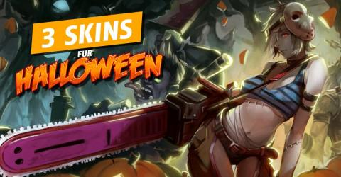 League of Legends: Zed, Viktor und Katarina bekommen ein Skin zu Halloween