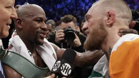 Floyd Mayweather will Conor McGregor vor seinem Kampf gegen Khabib Nurmagomedov helfen