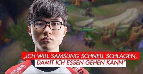 League of Legends: Faker gibt eine außergewöhnlich Prognose zum Halbfinale gegen Samsung ab
