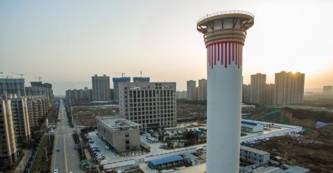 China kämpft mit Türmen gegen den Smog