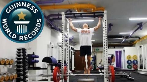 Weltrekord! Die meisten Klimmzüge in nur einer Minute