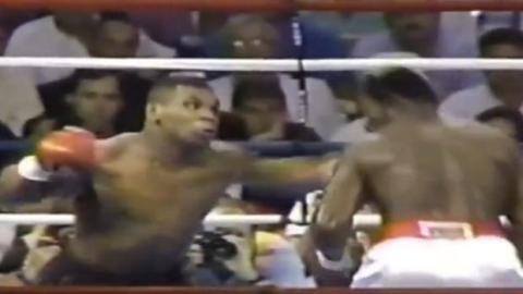 Boxen: Die besten K.O.s von Mike Tyson!