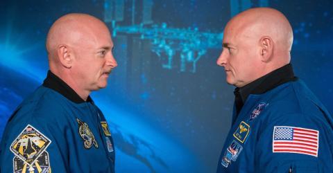 Dieser Astronaut kommt mit einem anderen Körper aus dem All zurück