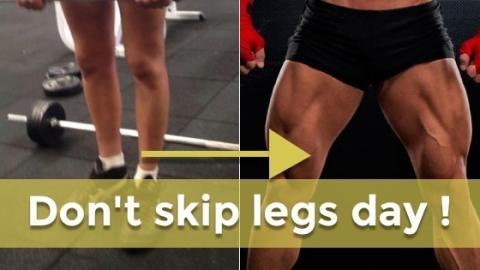 Das perfekte Workout für muskulöse Beine! Sie werden brennen, wie nie!