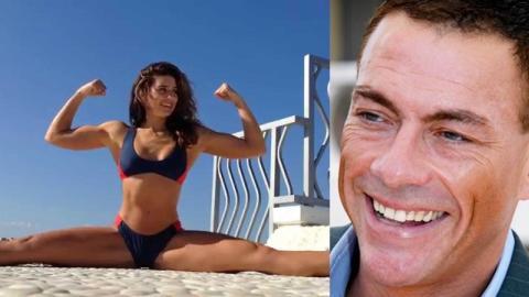 Das Wahnsinns-Training der Tochter von Jean-Claude Van Damme
