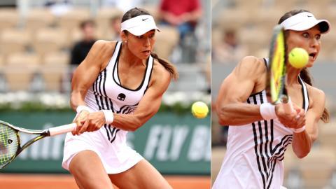French-Open: Tennisspielerin Witalija Djatschenko macht mit ihrer Figur von sich reden