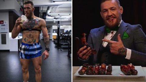 Sein Ernährungsberater verrät jetzt, was McGregor isst, um sich auch den Kampf gegen Mayweather vorzubereiten!