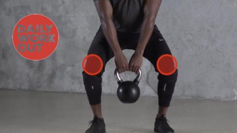 Das perfekte Workout für den Po: Kreuzheben mit der Kugelhantel