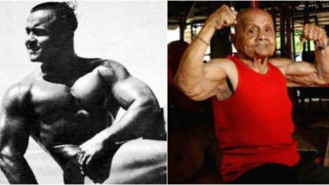 Manohar Aich: Die indische Bodybuilding-Legende ist mit 104 Jahren gestorben