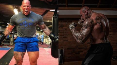 Martyn Ford: Der Bodybuilder bereitet sich auf seinen ersten MMA-Kampf vor