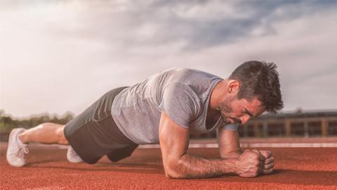 Unterarmstütz oder Plank: So baut ihr gezielt Muskeln auf