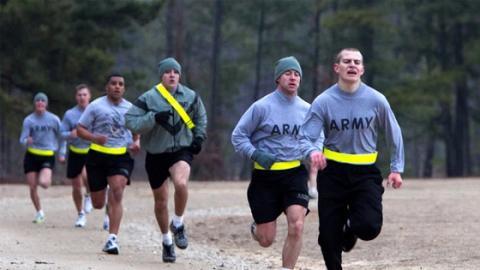 Trainiert wie die amerikanischen Spezialeinheiten und werdet topfit